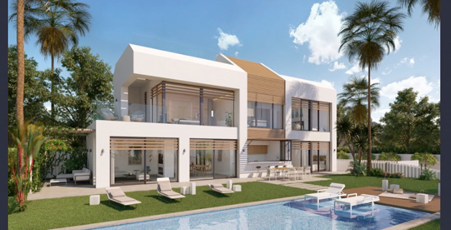 Villa, New Golden Mile, Marbella, Spain